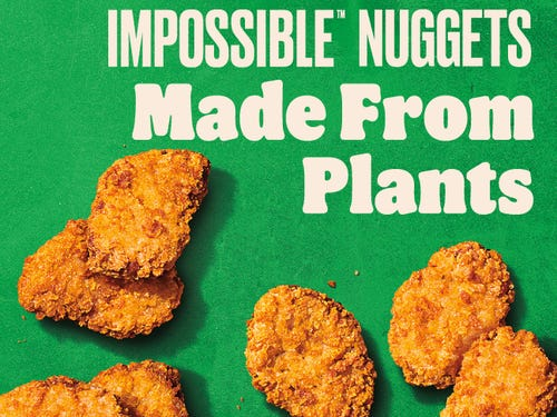 burger king plant-based impossible nuggets