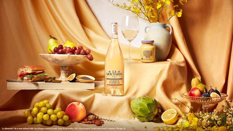 Grey Poupon White Wine