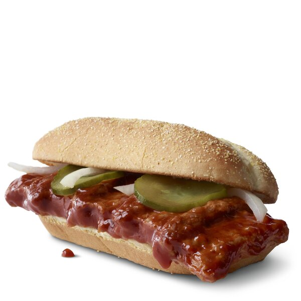 The McRib Is Back This Fall