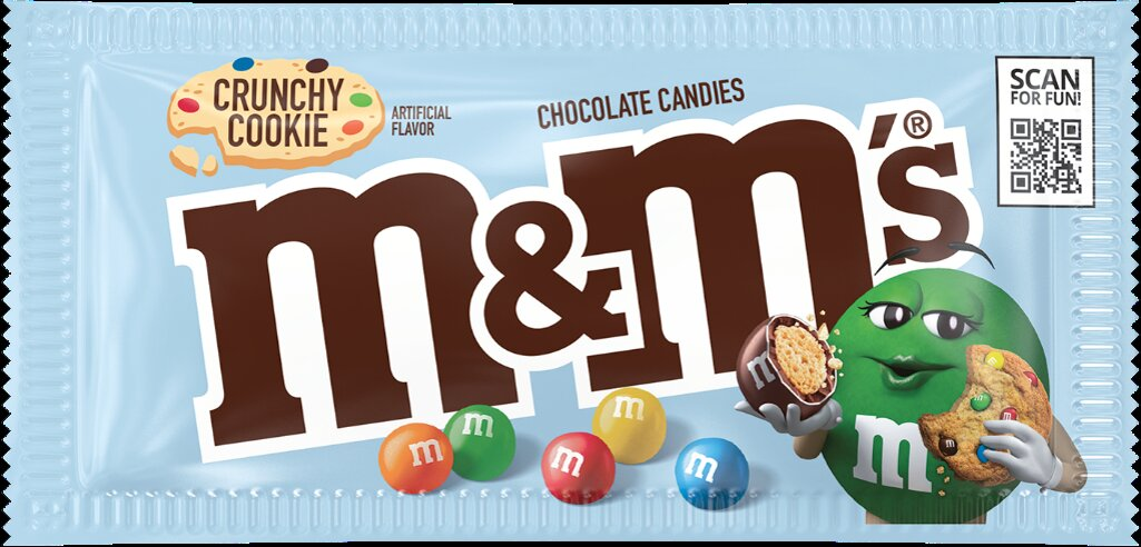 M&M's Crunchy Cookie